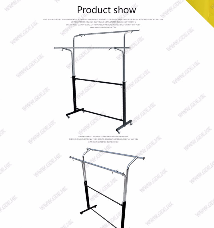 Good quality garment rack drying rack clothes drying rack