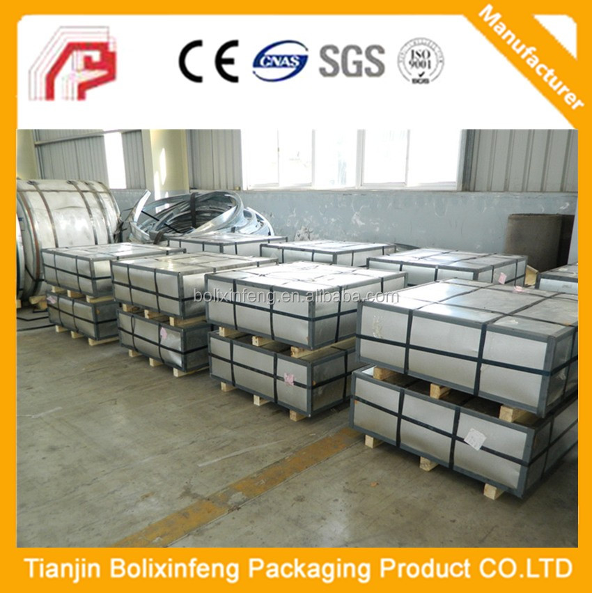 Prime Electrolytic Tinplate Sheet Coil / Secondary Tinplate in Stock with Good Price