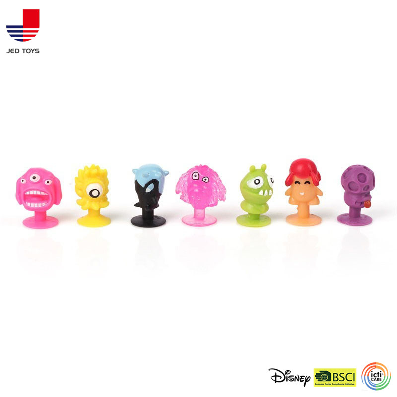 Monster Animal Cupule Action Figuer Toy Suction Cup Collector
