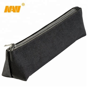 custom logo printing new design nylon polyester pencil pouch bag