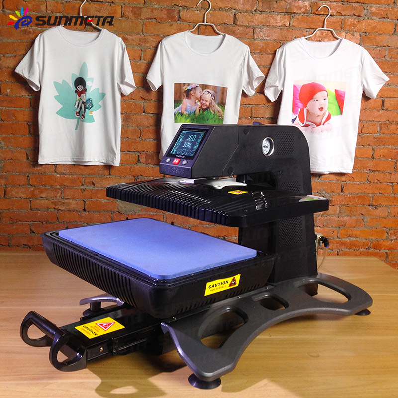 New 2015 new auotomatic t shirt dye sublimation printing for Machine for printing on t shirts