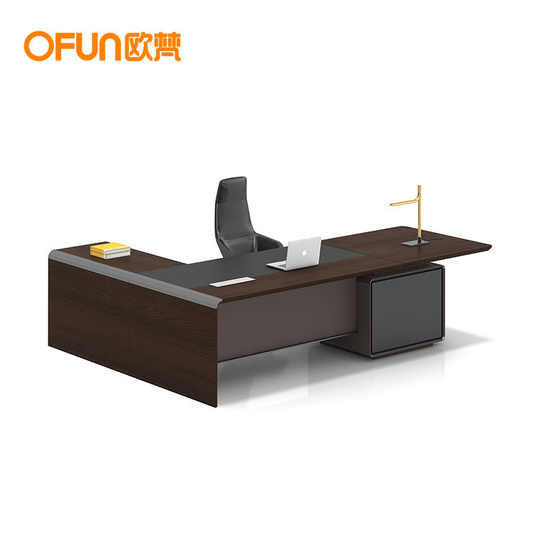 Wood Grain Executive Director Desk Modern Commercial Office Furniture Managing Director Office Table Buy Modular Office Table Design Wooden Office