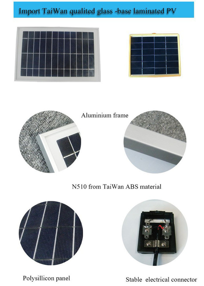 Led Outdoor Solar Floodlight Working From Dusk To Dawn At Good ...