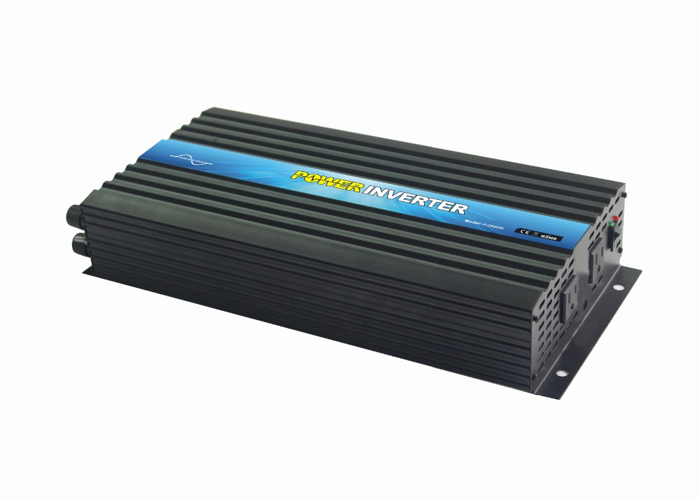 High Frequency DC/AC Inverters Type and Single Output Type Pure Sine Wave Off Grid Power Inverter 2500W