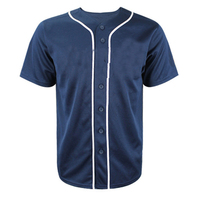 Customized Sublimated Blank Baseball Team Jersey Wholesale