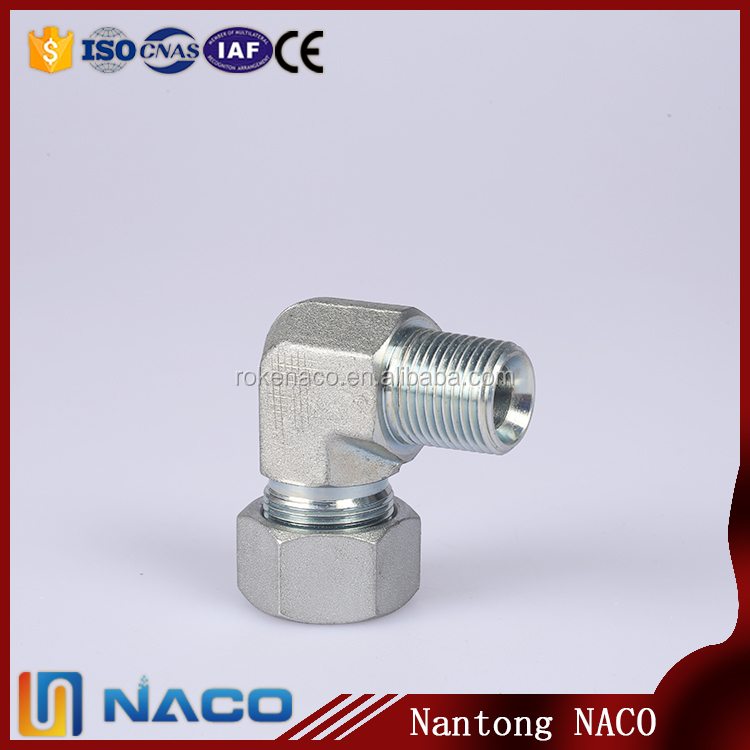 Manufacturer Quality Blue Irrigation Compression Fittings 90 Dwg Male Thread Pp Elbow