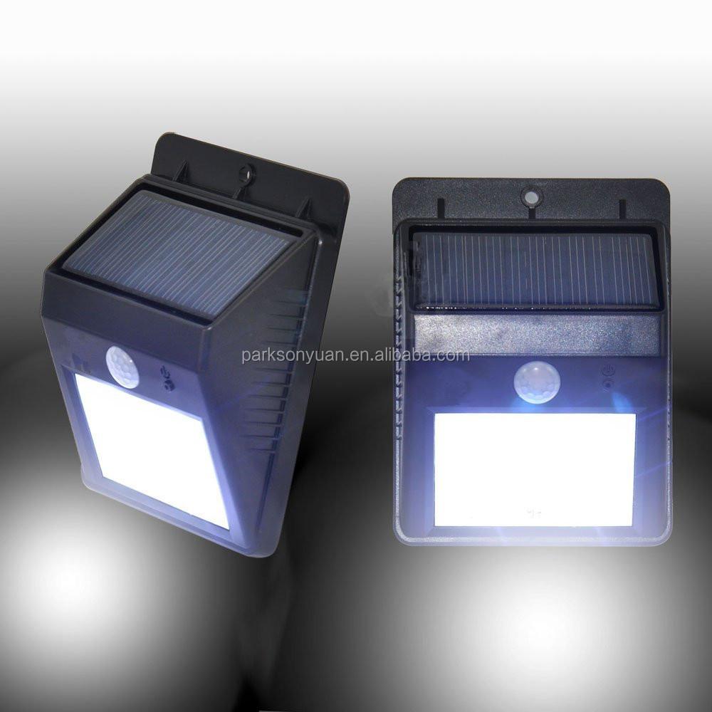 Led Solar Motion Sensor Lights Waterproof Wireless Solar Outdoor ...