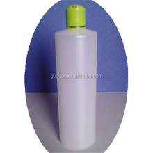 450ml HDPE Personal Care Soft Squeeze Plastic Bottles with flip top caps made in China
