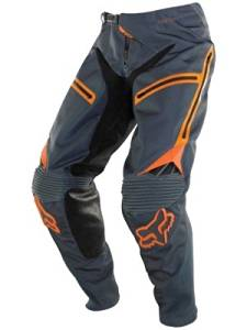 Fox Racing Legion Men's Off-Road Motorcycle Pants - Grey/Orange / 38