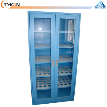 High Grade Laboratory Glassware Vessel Cupboard Storage Cabinet