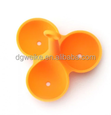 hot kitchenware tool food grade Silicone cooking egg holder promotional