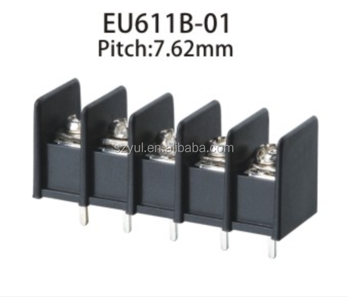High quality 2 way 3 pole 4 pin barrier terminal block