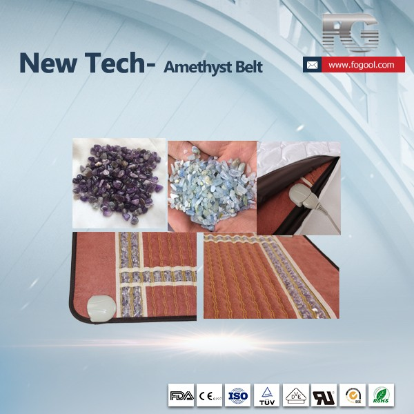 China Wholesale High Quality Amethyst Crystal Heating Pad Price ...