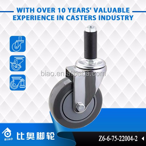 "3"" 4 "" 5 "" Swivel Expanding Stem Casters"