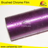 Car Wrapping Brushed Chrome leather car wrap