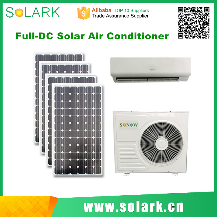 100% Solar DC 48V Inverter Air Conditioner split ac 1.5 ton with CE