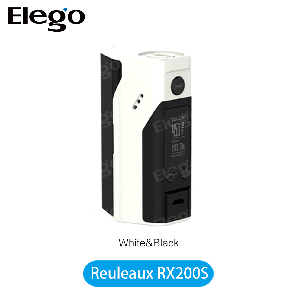 First Batch Wismec Reuleaux RX200S TC Mod 0.96inch OLED screen, Original Wismec RX200S factory price