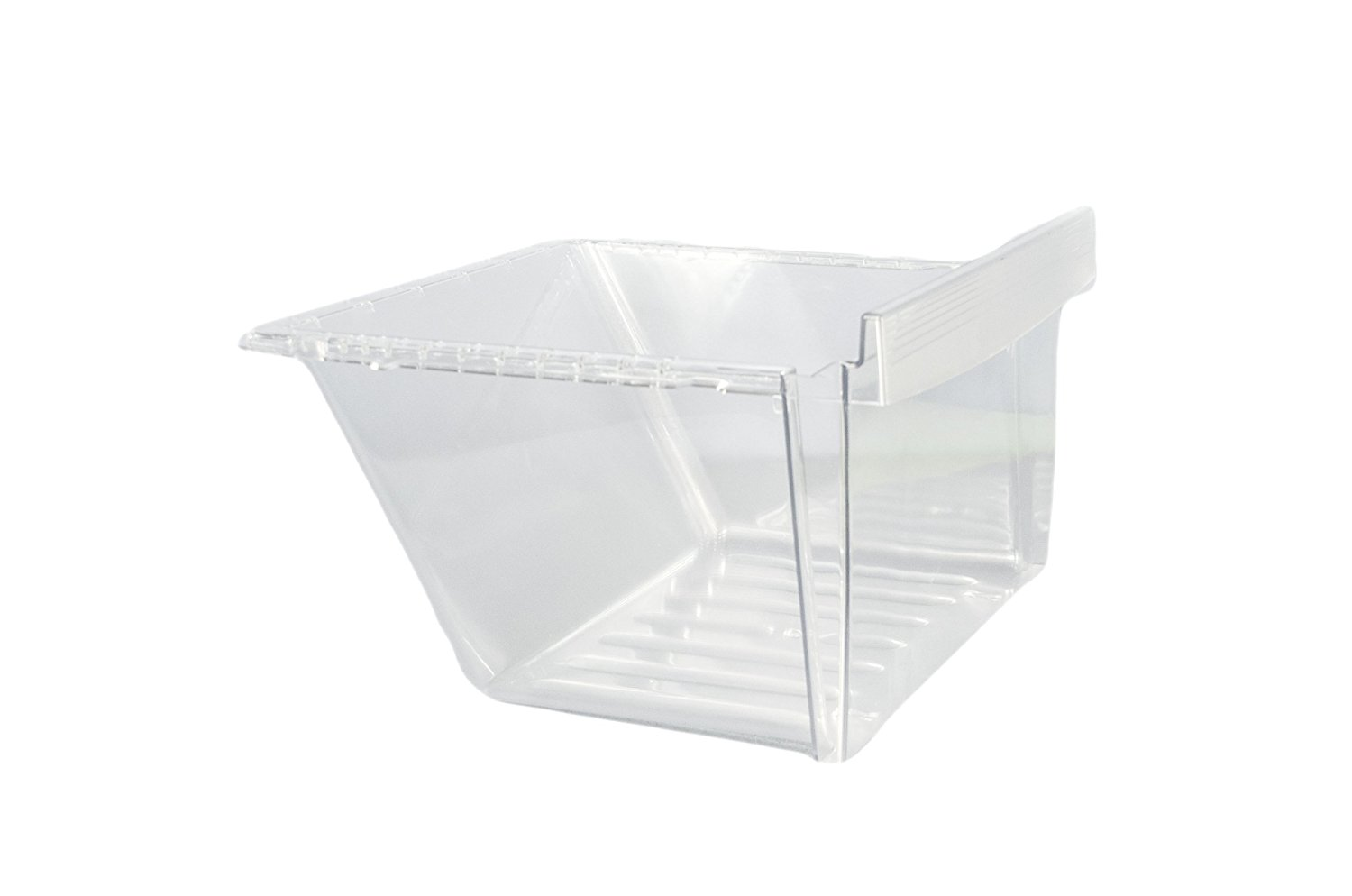 LG Electronics AJP72994802 Refrigerator Vegetable Crisper Drawer, Clear