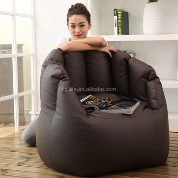 Chair Pumpkin Shape Funny Bean Bag Chairs