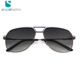 Newest custom yellow lens brand polarized aviation sunglasses 2018 with logo