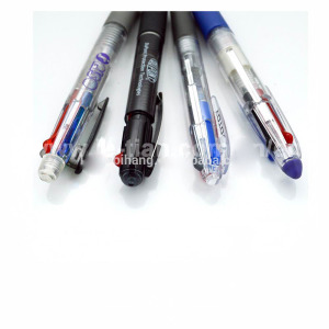 Top sale Amazon sakura pens four 4 inks color ballpoint pen black and transparent