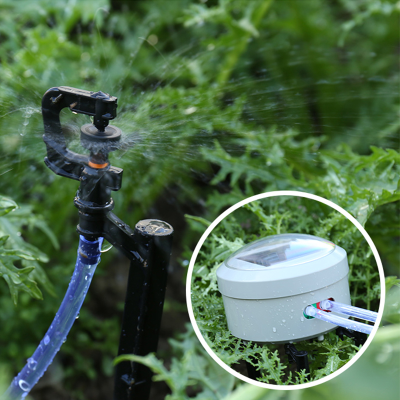 Solar Automatic Plant Garden Watering System With Timer Sprayer Irrigation Agriculture Spray Machine Drip