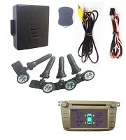Universal Car DVD TPMS For 4 Internal Sensors