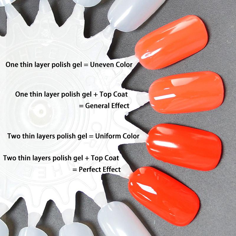 30917x Canni Nail Art Oem High Quality 240 Colors 7.3ml Soak Off Uv ...