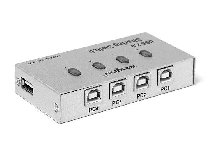 Usb 2 0 Hub Splitter On Off Sharing Switch With 2 Port