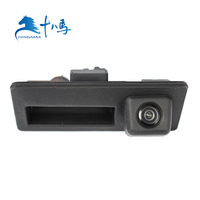 DC12V wide angle waterproof car tailgate rear view camera for Audi WV