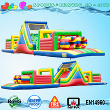 adult mega inflatable obstacle course for sale,inflatable mega obstacle for kids and adult