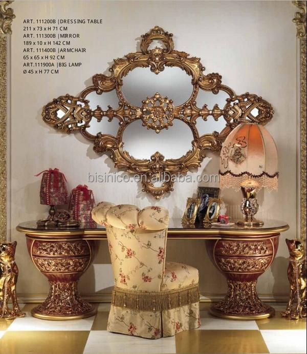 Italian Sofa Jakarta: Nieuwe Klassieke Italië-stijl Royal King Size Bed, Luxe