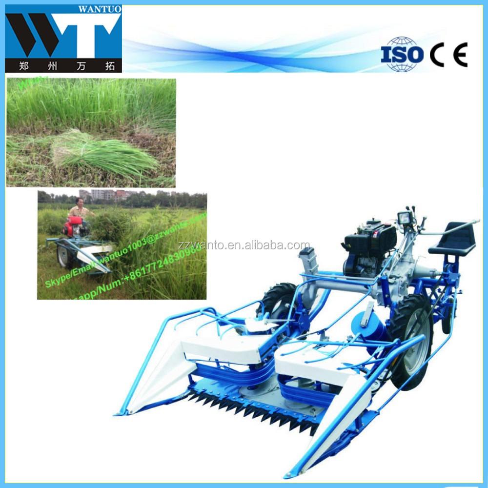 3 Wheels Bcs Diesel Paddy Rice Reaper Binder India