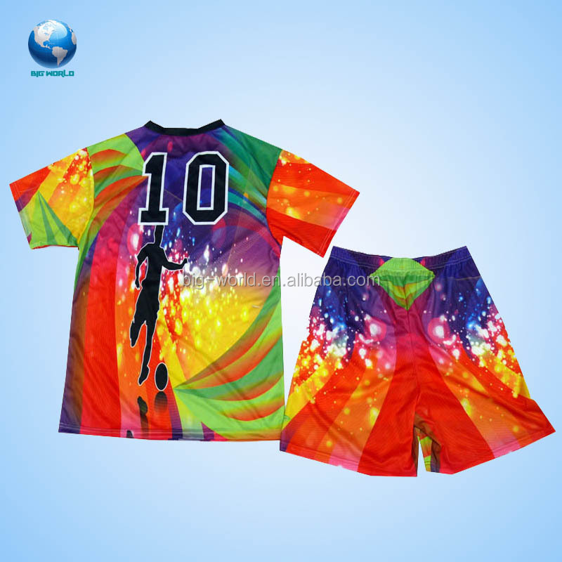 Big World Factory Wholesale Football Suit Soccer Uniforms In Los Angeles