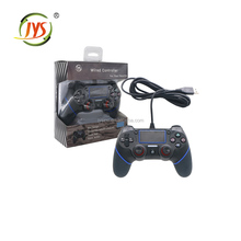For playstation 4 wired controller with 6-axis sensor LED instructions Supports double motor vibration