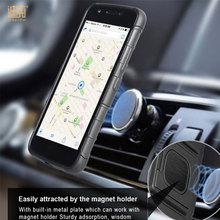 Mobile Phone Accessories factory cell phone case cover with magnetic car holder