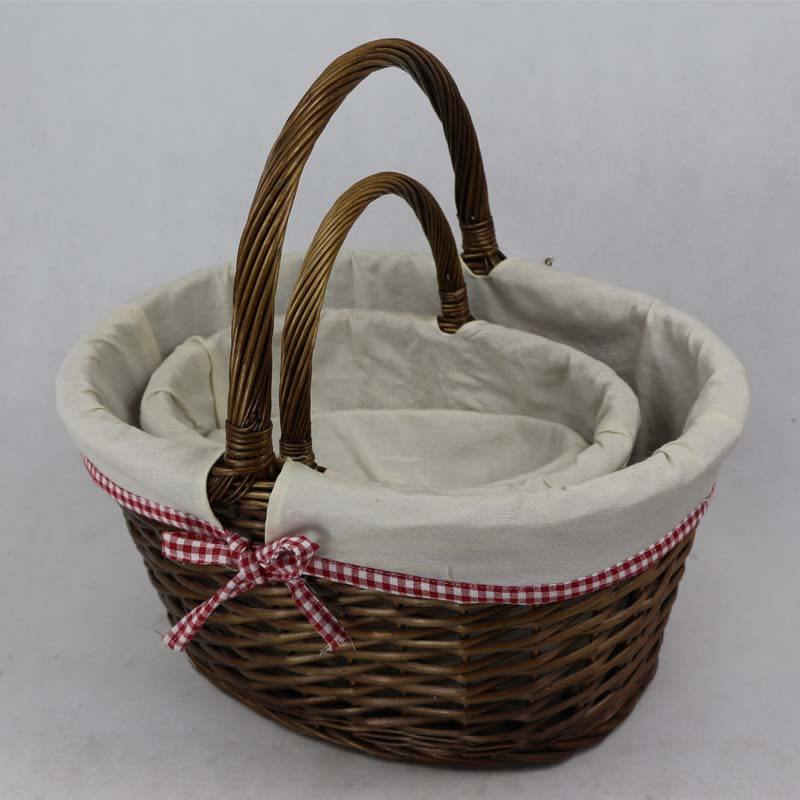 various shape baskets wicker willow arts and crafts basket