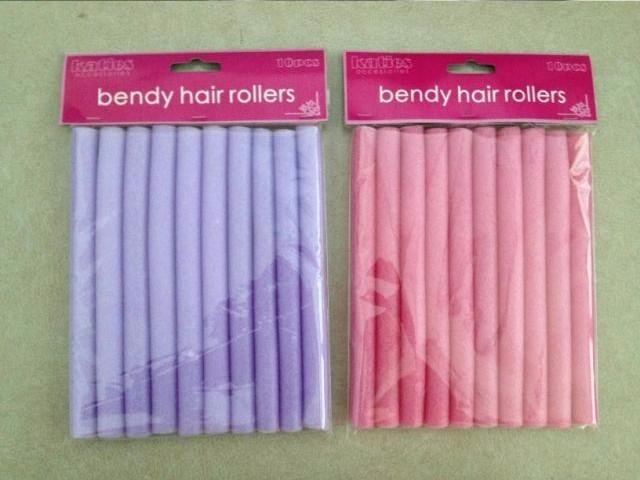 Styling Tools 10Pcs/Set Soft Rubber Curler Roller Curl Bendy Rollers Hair  Curlers Tool Styling Rollers Sponge Hair Curling
