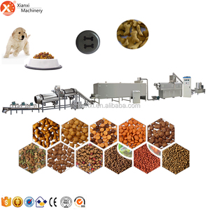 Multifunctional stainless steel pet/dog /fish /bird food extruder production line