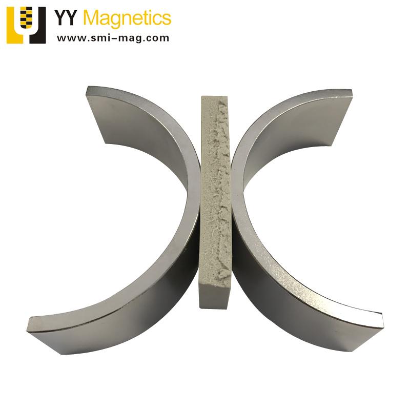 N42 Half Ring Neodymium Magnet N42 Half Ring Neodymium Magnet