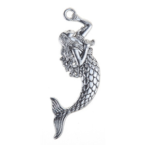 2019 new arrival women jewelry accessories handmade DIY mermaid charm pendant