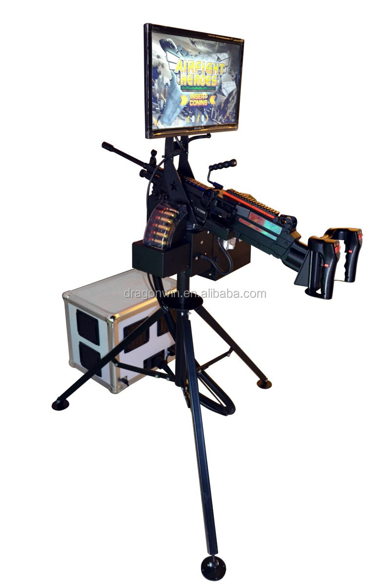 Hot selling Warfare Heroes tv gun shooting arcade game machine factory price for sale