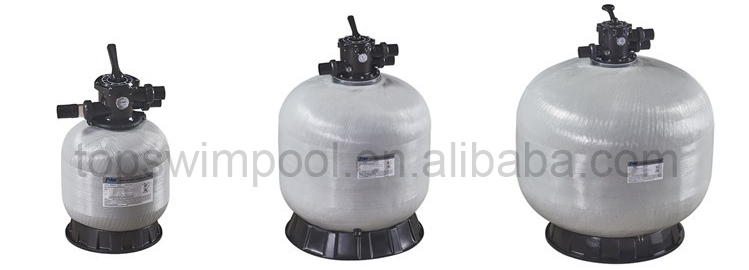 Pikes Factory Fiberglass large-scale swimming pool pressure vessel Sand Water Filter,Frp Filter Tanks for water treatment