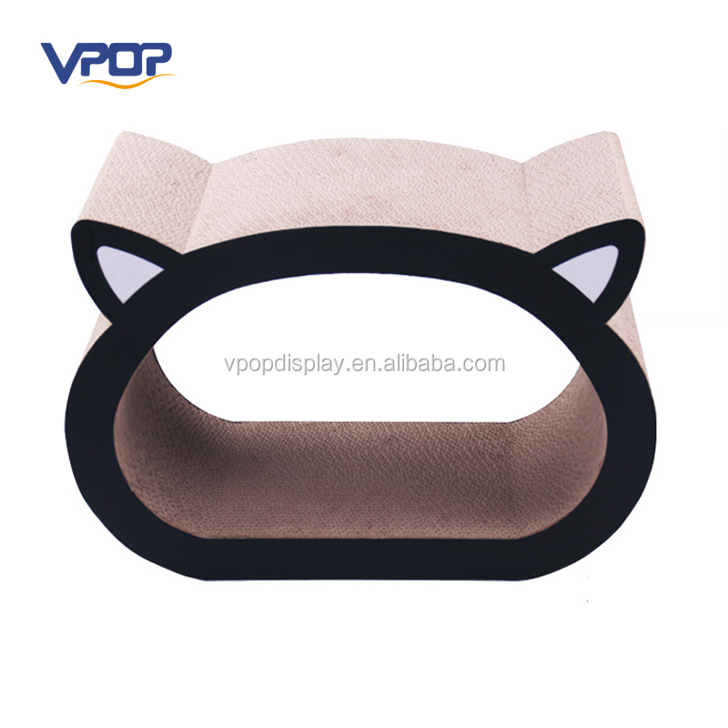 Corrugated Cat Scratching Cardboard Pad for Toys