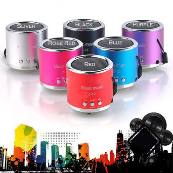 Usb Mini haut - parleur Music Player Portable Radio FM stéréo PC mp3 haut - parleur