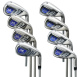 Titanium fashion club full set offset golf iron