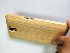 uk availability fe8eb a58ca For OnePlus One Case Cover Bamboo Wooden Wood Material