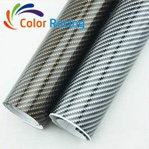 High Quality 1.52*30M Decorative Vinyl Sticker Paper Rolls 2D Carbon Fiber Wrap