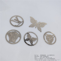 Delicate copper sheet Mark gold-plated butterfly/face BaoTou/metal bookmark Ordering stationery accessories factory