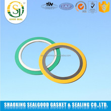 High-temperature asme b16.2 spiral wound gasket with outer ring